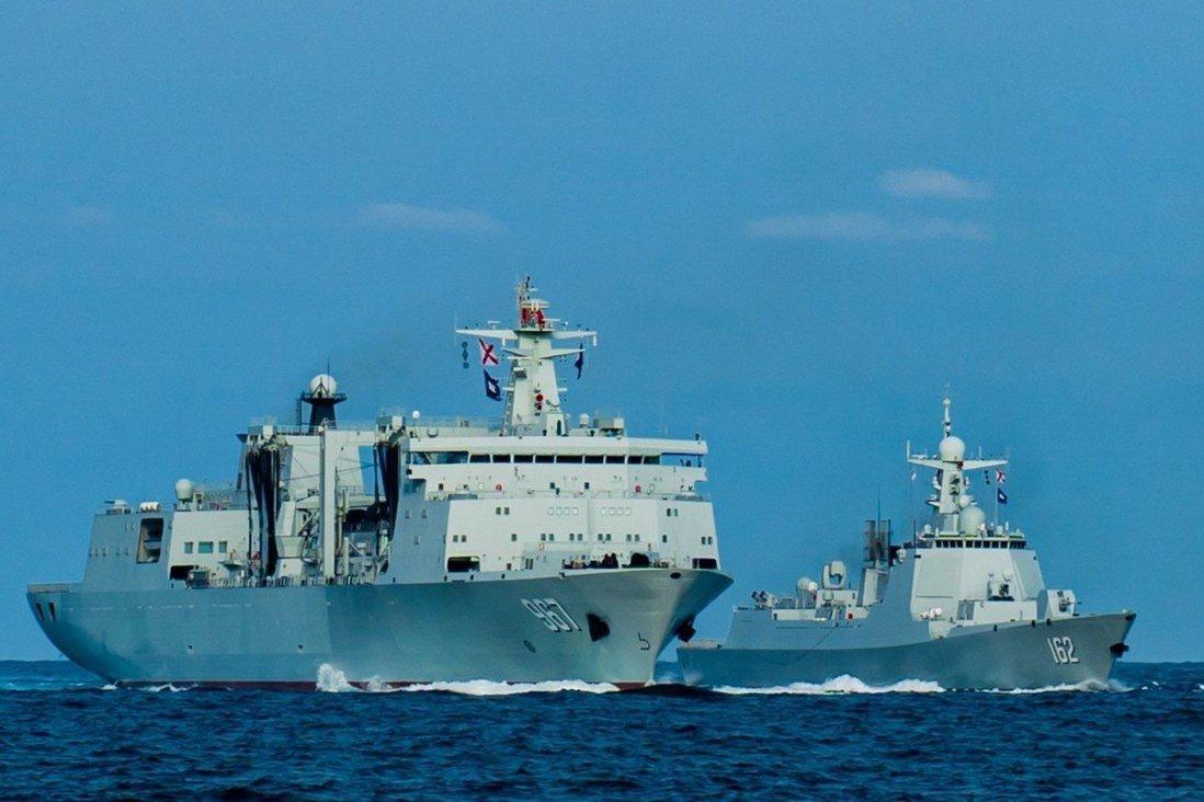 Tàu khu trục mới của Trung Quốc tập trận ở Biển Đông Ảnh 1
