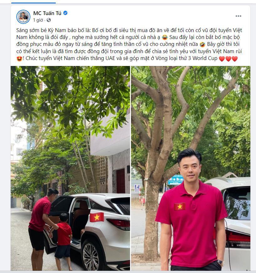 Trước trận Việt Nam-UAE, Xuân Hinh gửi lời tới thầy Park, bạn gái cũ Tiến Linh đoán tỉ số Ảnh 6