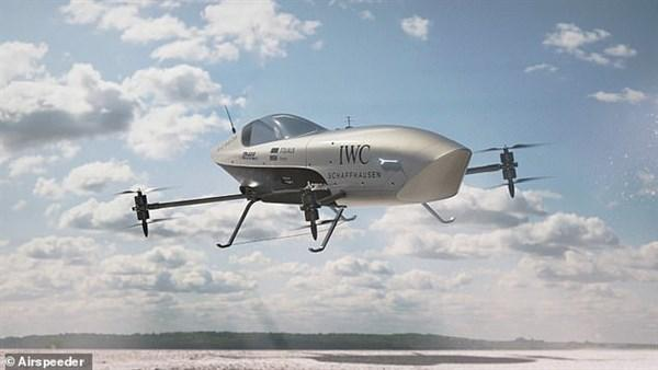 Airespeeder: Xe đua bay đầu tiên trên thế giới Ảnh 1