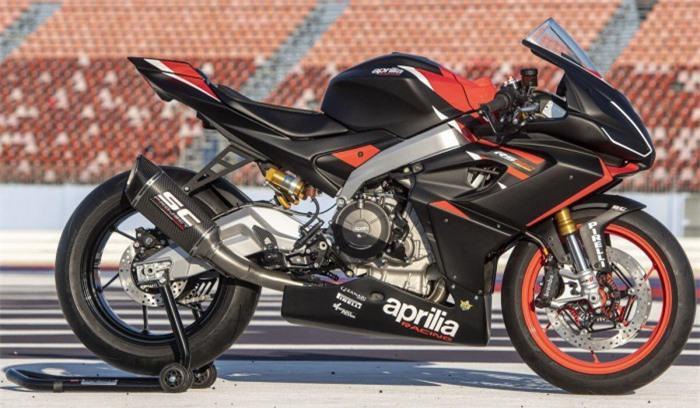 Ngắm Aprilia RS660 phiên bản đường đua, giá 411 triệu đồng Ảnh 4