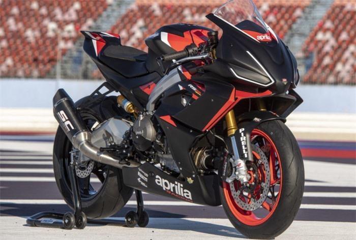 Ngắm Aprilia RS660 phiên bản đường đua, giá 411 triệu đồng Ảnh 1