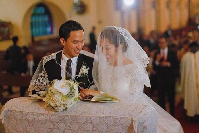 Ảnh cưới chưa từng được công bố trước đây được chồng Hà Tăng chia sẻ trong 'Ngày của Cha' Ảnh 4