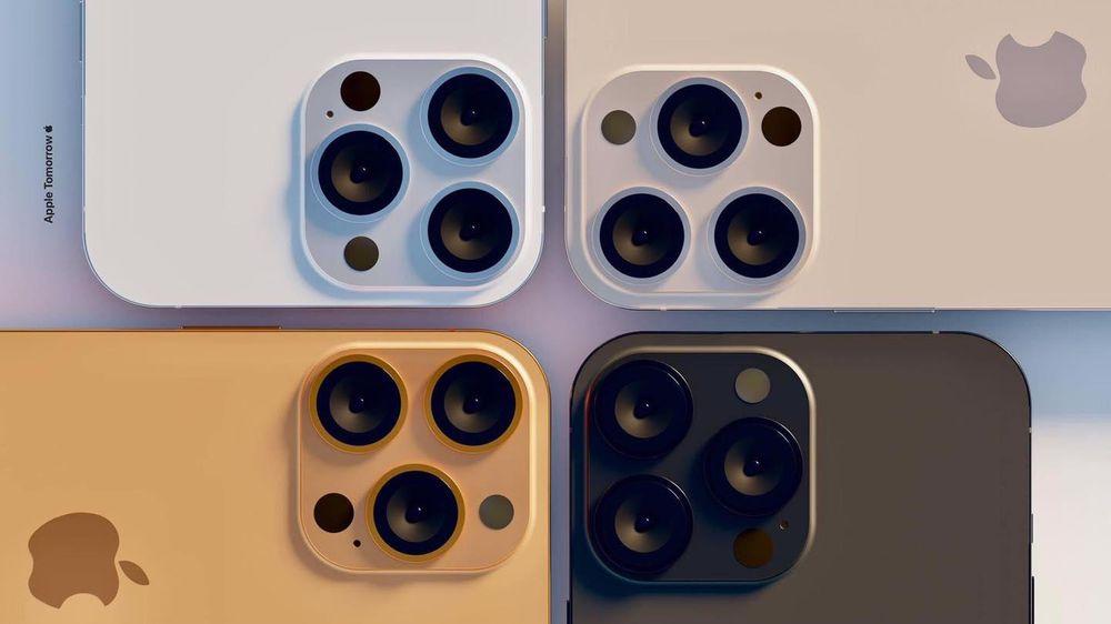 Lộ diện 4 màu sắc tuyệt đẹp của iPhone 13