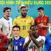 UEFA đã chính thức công bố đội hình tiêu biểu của EURO 2020. Và không bất ngờ khi nhiều cái tên trong số đó tới từ nhà ĐKVĐ Ý.