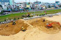 Chủ đầu tư thừa nhận 'vội vàng' xây khu dịch vụ SeaSand trên bãi biển