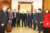 Nhân sự lãnh đạo chủ chốt khóa XIII và Điều lệ Đảng