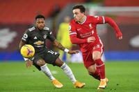 Liverpool hòa Man United không bàn thắng