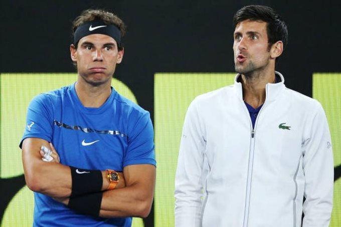 Nadal bị đánh giá dưới cơ Djokovic