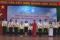 Trao giải Cuộc thi sáng tạo thanh thiếu niên, nhi đồng tỉnh An Giang lần thứ IX năm 2020