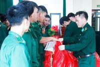 Bộ đội Biên phòng tỉnh: Tiễn 115 quân nhân hoàn thành nghĩa vụ quân sự trở về địa phương