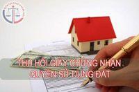 Hủy giấy chứng nhận quyền sử dụng đất cấp cho ông Lê Trung Tâm tại xã Cát Vân, Như Xuân