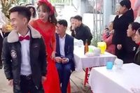 Sự thật ngỡ ngàng sau clip chú rể 15 tuổi trong đám hỏi ở Hà Tĩnh