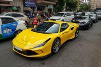 Ferrari F8 Spider cùng dàn siêu xe xuất hiện tại TP.HCM