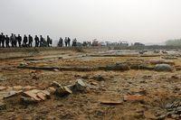 Khu vực khai quật khảo cổ học trong nội Thành nhà Hồ