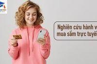 Ảnh hưởng của Hành vi thời gian và Cảm nhận hình ảnh bản thân lên Thái độ với mua hàng trên mạng của người tiêu dùng