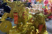 TP.HCM: Người dân chen chân lên phố Hải Thượng Lãn Ông sắm 'trâu vàng'