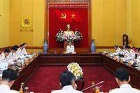 Đoàn đại biểu Đảng bộ Công an Trung ương họp phiên thảo luận đóng góp ý kiến vào Văn kiện Đại hội XIII của Đảng