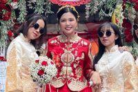 Cô dâu TP.HCM đi giày sneakers: 'Cha mẹ tôi không phản đối'
