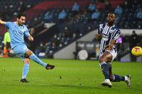West Brom 0-3 Man City: Gundogan lập cú đúp (H1)