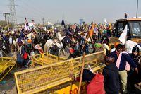 Ấn Độ bắt giữ 200 người gây rối trong cuộc biểu tình của nông dân