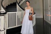 Sau khi lộ dáng gầy gò đáng báo động, Tăng Thanh Hà rạng rỡ hơn bao giờ hết với váy trắng