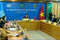 Việt Nam tham gia Kỳ họp 52 của Ủy ban Thống kê LHQ