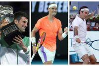 'Big 3' sẽ cùng tranh tài tại Miami Masters năm nay