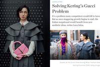 Châu Bùi xuất hiện chễm chệ trên báo nước ngoài, ngày càng khẳng định tên tuổi