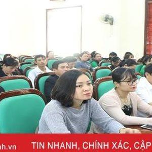 Doanh nghiệp TP Hà Tĩnh được quán triệt nghị quyết đại hội đảng bộ các cấp