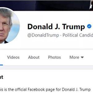 Bỏ chặn tài khoản Tổng thống Trump, Facebook và Twitter không quên đổi luôn chức danh