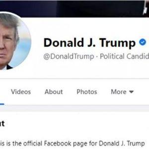 Facebook và Instagram mở lại tài khoản của ông Trump nhưng không còn công nhận là Tổng thống Mỹ