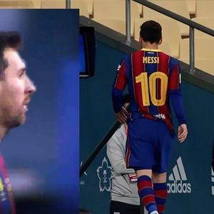 Pha đánh nguội khiến Messi nhận thẻ đỏ trong trận Siêu Cúp Tây Ban Nha