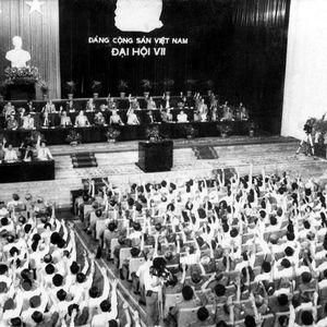 Đại hội VII: Đổi mới toàn diện, đưa đất nước tiến lên con đường XHCN