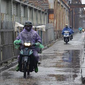 Mưa lạnh bao phủ Đông Bắc Bộ