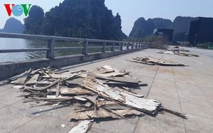 Quảng Ninh: Quảng trường ngập rác sau Lễ hội Hoa anh đào