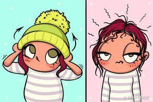 Nỗi khổ của các cô gái gợi cảm khi mùa đông đến