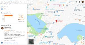 Đánh giá địa điểm trên Google Maps có thể thêm hashtag