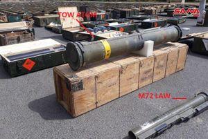 Quân đội Syria tiếp tục thu giữ nhiều vũ khí hiện đại của khủng bố ở Damascus