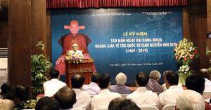 Lễ kỷ niệm 550 năm Hoàng giáp Nguyễn Như Uyên đăng khoa
