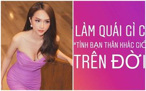 Hoa hậu Hương Giang gây tranh cãi MXH vì câu nói: 'Làm quái gì có tình bạn thân khác giới trên đời'