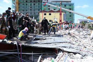 Campuchia truy tố 7 người trong vụ sập nhà làm 28 người chết