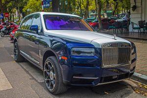 Chiếc Rolls-Royce Cullinan đầu tiên về VN 'lột xác' ấn tượng