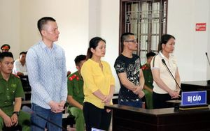 Bốn bị cáo mua bán trái phép chất ma túy lĩnh án 77 năm tù