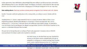 2 người Việt nhận tội trong vụ đường dây kết hôn giả ở Mỹ