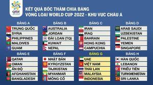 Việt Nam cùng bảng với 3 kình địch Đông Nam Á
