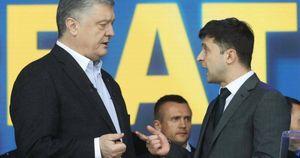 Ông Zelensky cáo buộc ông Poroshenko không muốn kết thúc chiến tranh