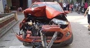 Tài xế Ford Ecosport gây tai nạn liên hoàn vi phạm nồng độ cồn