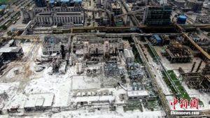 Vụ nổ tại Trung Quốc: 15 người thiệt mạng, công tác tìm kiếm kết thúc