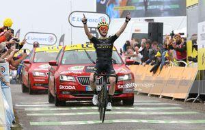 Tour de France: Simon giành chặng thắng thứ 2, Pinot vươn lên mạnh mẽ