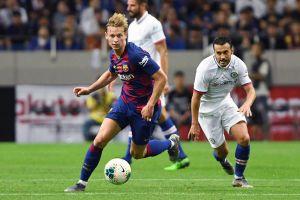 Màn trình diễn của Griezmann, De Jong and Neto trong màu áo Barca